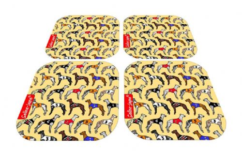 Selina-Jayne Greyhounds Limited Edition Designer Coaster Gift Set